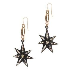 Lulu Frost Spark Crystal Star Earrings