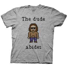 Le mec respecte Big Lebowski Cult Classique Comédie Drôle Film Movie T-Shirt Tee