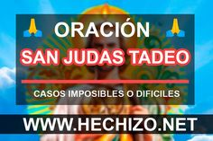 San Judas Tadeo Oracion