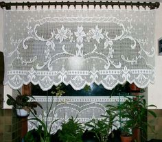 Häkeln - Gardinen und Deckchen                                                                                                                                                                                 Mehr