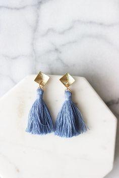 Amalfi Tassel Earrings
