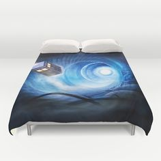 Doctor+Who+Duvet+Cover+by+Joe+Roberts+-+$99.00