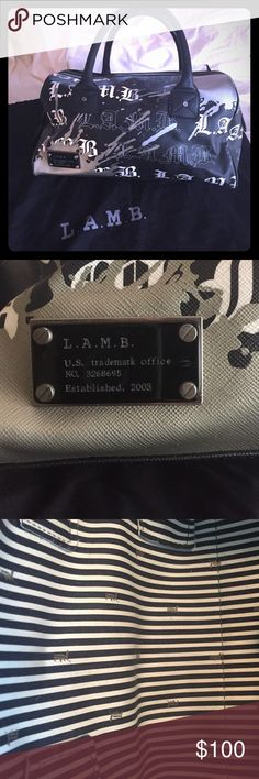 L.A.M.B. by Gwen Stefani Bag Purse Gentle wear. Purchased from Nordstroms. One of the earlier seasons, if not first season. Clean inside (see photo). Scuffs on corners (see photo). L.A.M.B. Bags Mini Bags