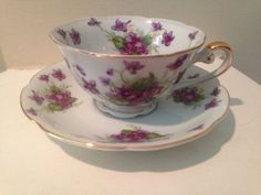 Lefton China Hand Painted tea sets | Vintage Hand Painted Lefton China Tea Cup and by TheDaintyBullet, $12 ...