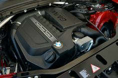 BMW's legendary 3.0-liter inline six-cylinder engine comes in the xDrive35i version of the X4. It's rated at 300 horsepower and comes mated to a standard eight-speed automatic transmission.