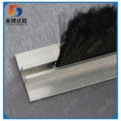 T type Strip Brush & galvanized iron door strip brush | Aluminum Carrier Door Sweep ...