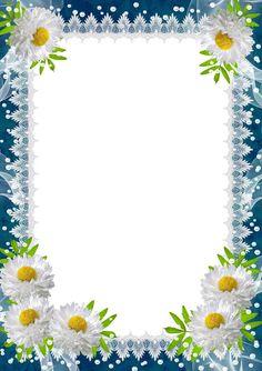 Picture Frame Flowers – Pictures of Flowers Frame Border Design, Boarder Designs, Page Borders Design, Photo Frame Design, Picture Borders, Flower Picture Frames, Flower Frame Png, Molduras Vintage, Disney Frames