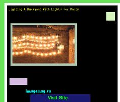 Lighting A Backyard With Lights For Party 193830 - The Best Image Search
