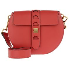 103a64831650 Coccinelle Shoulder Bag - Minibag Duo Strap Crossbody Rosso - in red -.