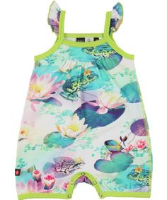 Molo Kids Frog Prince Romper - Faline.  Available at www.trendytotsboutique.co.uk