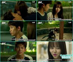 bong pal and hyun ji nearly to kiss again - Let's Fight Ghost - Episode 12…