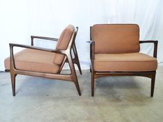 Just-In 4-7-13 | Modern furniture - Selig IB Kofod Larsen Chairs, recliner, Clintique English Chair, Danish bar stools, sideboard