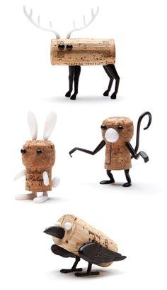 Cork animals kit by Reddish Studio