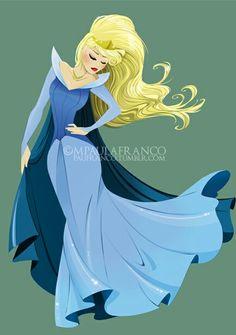 Princess Aurora by MPaula Franco