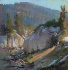 I finished a packtrip a few weeks ago in the Ansel Adams wilderness with a great group of artist friends, Paul Kratter, Terry Miura, Miche...
