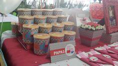Papas Pringles Peppa Pig.
