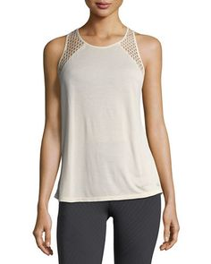 TVMEP Alo Yoga Cage Open-Back Performance Tank Top