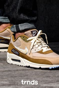 Muted Bronze Covers This Nike Air Max 90 Premium