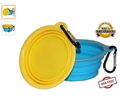 Northern Outback Travel Pet Bowl 2 Pack 2 Cup Silicone Collapsible Dog Bowl Cat Bowl * More info could be found at the image url. (This is an affiliate link and I receive a commission for the sales) Pug Pictures, Pug Pics, Collapsible Dog Bowl, Artist Materials, Dog Feeding, Catio, Pet Bowls, Hobbies And Crafts, Safe Food