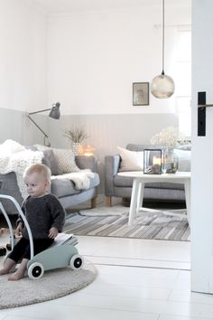 Ich mag es Ton in Ton.... Baby Strollers, Living Spaces, Kids Rugs, Indoor, Children, Inspiration, Home Decor, Pastel, Baby Prams