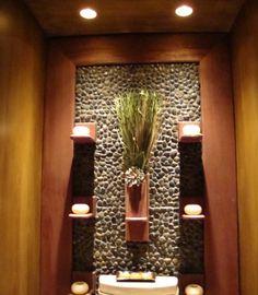 Powder Room Zen Design, Pictures, Remodel, Decor and Ideas