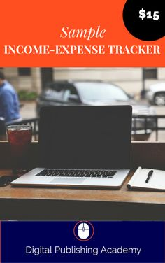 To save the headache when Tax time comes and to track how successful you are at making your blog into a real income source, you'll want to keep track of your expense with this expense tracker