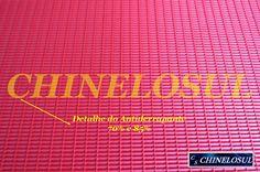 chinelosul.com - Placas de Borracha