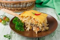 Cabbage And Beef, Cabbage Recipes, Chicken Recipes, Crockpot Chicken Casserole, Cabbage Casserole, Brunch Recipes, Breakfast Recipes, Good Food, Yummy Food