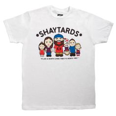 Man, I wish I wasn't a couple of days behind on watching Shaytards...I would have ordered this shirt! Too cute!