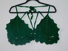 Check out this item in my Etsy shop https://www.etsy.com/listing/274286200/matching-crochet-leaflet-bikini   This one has matching bottoms
