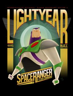 Buzz Lightyear: Space Ranger - by Franco Spagnolo