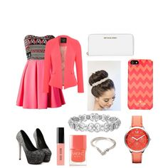 A fashion look from March 2015 featuring Jane Norman blazers, MICHAEL Michael Kors wallets and FOSSIL watches. Browse and shop related looks.
