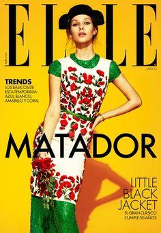 Elle Mexico April 2012 - Kelsey Van Mook photographed by Jason Kim Elle Fashion, Fashion Shoot, Editorial Fashion, Fashion Magazine Cover, Fashion Cover, Magazine Covers, Jason Kim, Elle Mexico, Vintage Magazine