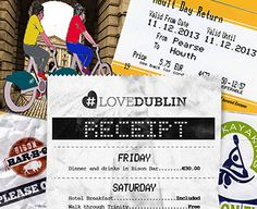 For a great weekend in Dublin that won