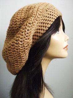 Crochet Extra Slouchy Hat Beret Tam