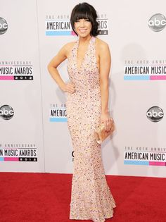 40th Annual American Music Awards Red Carpet Arrivals: Carly Rae Jepsen