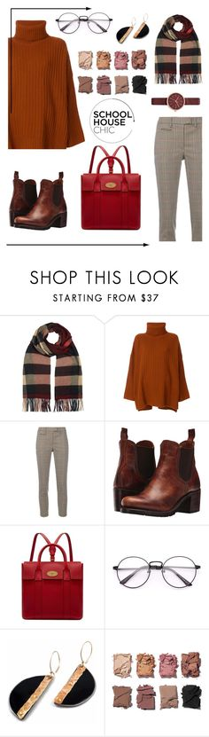 """""""Fall look"""" by parkyoongi ❤ liked on Polyvore featuring Burberry, Joseph, Dondup, Frye, Mulberry, Illamasqua and Skagen"""