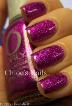 Chloe's Nails: A Bubbly Bombshell and my new fave base!