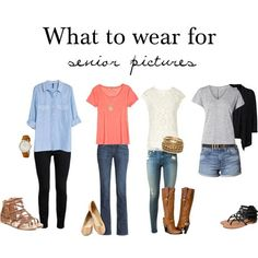 What to Wear for Senior Pictures | Carolyn Victoria Photography | Dubuque Iowa Photographer