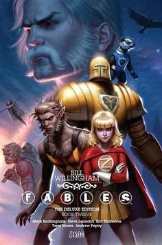 Fables The Deluxe Edition Book Twelve (Fables Deluxe Editions)