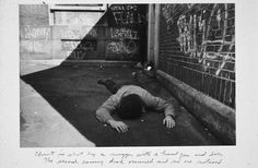 "Duane Michals - ""Christ in New York"" 1981"