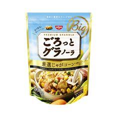 NISSIN Gorotto Granola Potato Corn - 500g - Takaski.com