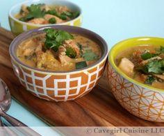 This dairy-free Thai chicken stew is spicy and tastes very rich. #paleo