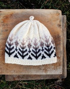 free pattern for a fair isle knit hat
