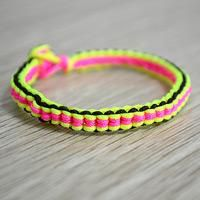 The easy string bracelet, or you can call it friendship bracelet, always can be pratical on all the time. You can wear them out every now and then, with all outfits and appearance.