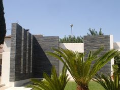 contemporary external feature wall cladding - Google Search