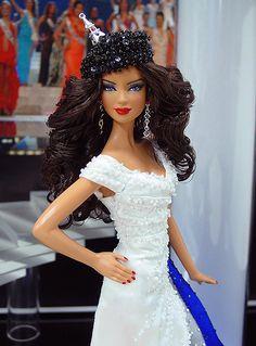 Miss France Barbie Doll 2012