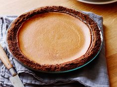 Pumpkin Pie Recipe : Alton Brown : Food Network - FoodNetwork.com I need to change ingredients use Coconut palm sugar, organic ingredients and GF crust