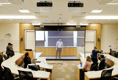 The classroom of the future was unveiled today by The Wharton School of the University of Pennsylvania with the help of Cisco TelePresence.