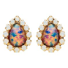 Fab.com | My design inspiration: Middleton Earrings Fire Glass on Fab.
